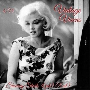 THURSDAY 4/15 Vintage Vixens Sign Up Sheet